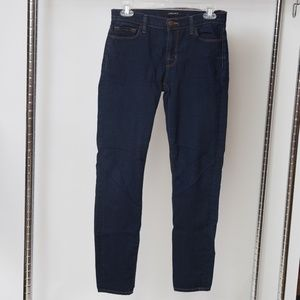 J brand 811 Mid Rise Skinny Jeans in Ink 27x27